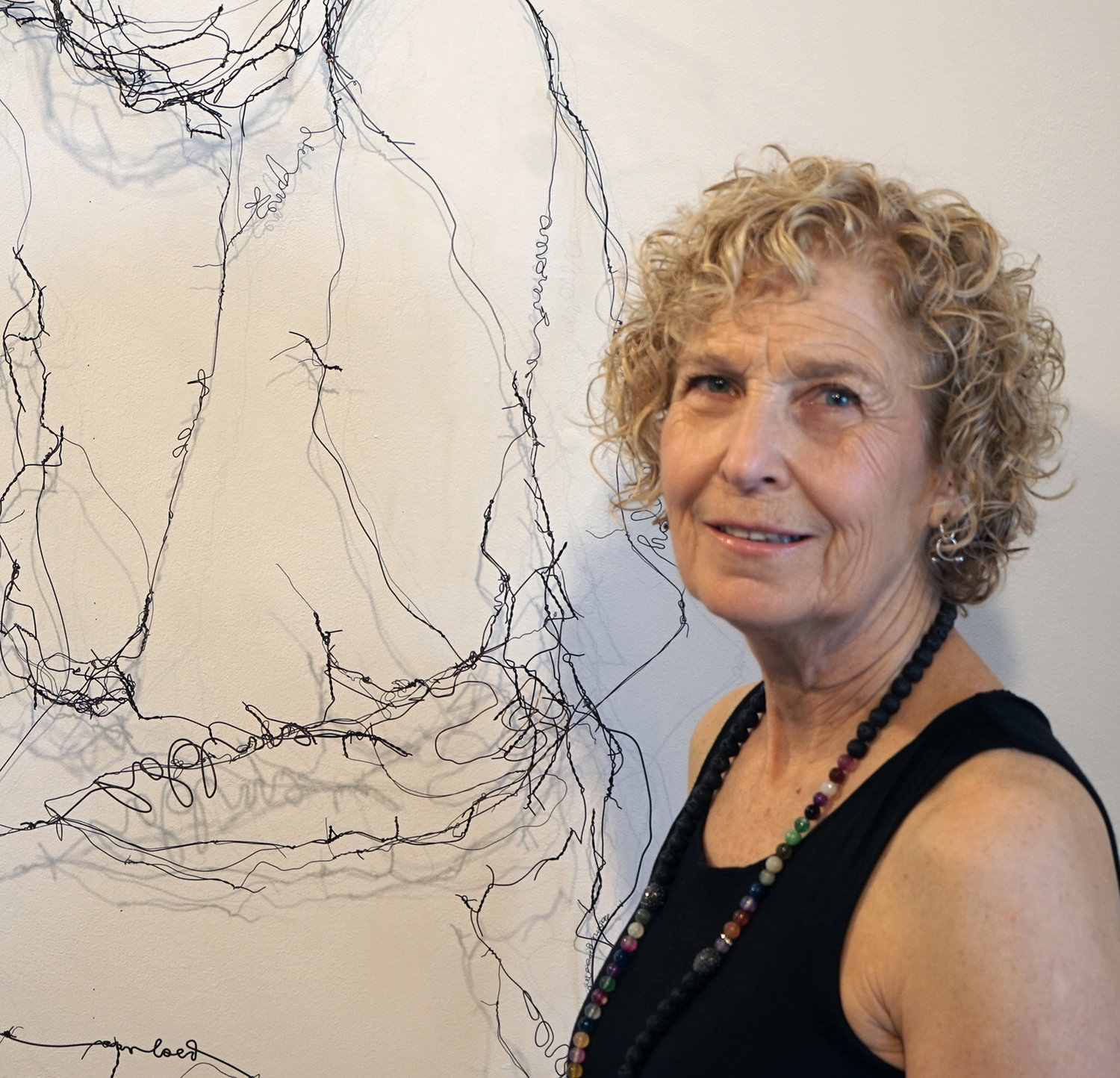 Artist Naomi Grossman of Rockville Centre will have five pieces on display in an exhibition at the Plaxall Gallery in Long Island City through Feb. 16.