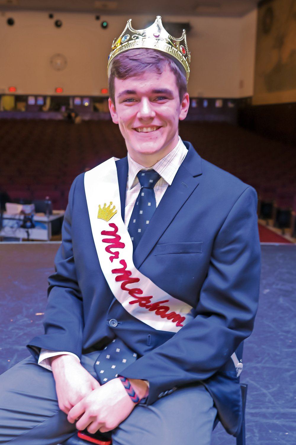 Kenneth Franquiz, winner of the 2020 Mr. Mepham Pageant.