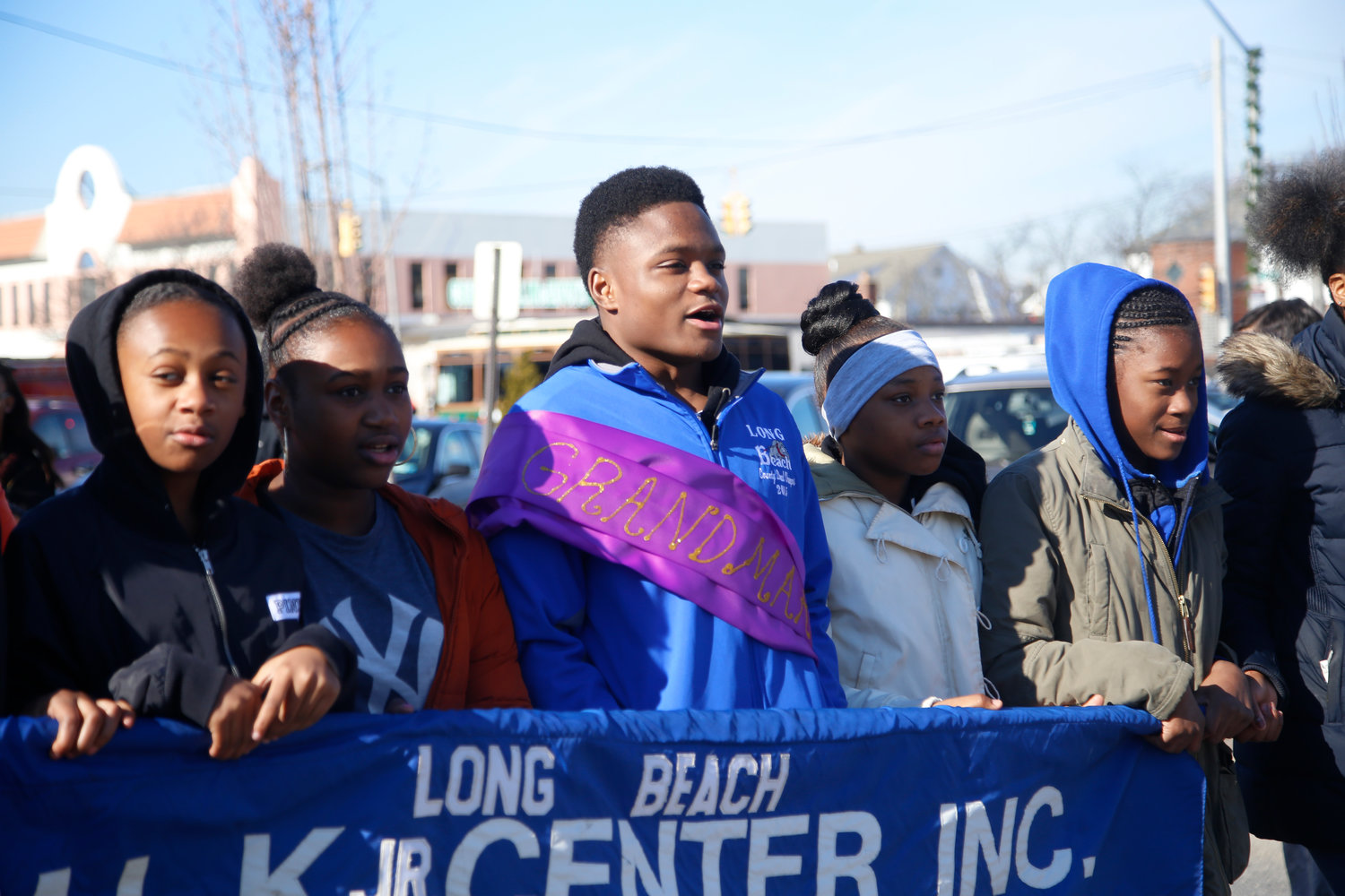 Long Beach High School alumni and 2016 national wrestling champion Jacori Teemer served as the 2017 grand marshal in the annual Dr. Martin Luther King Jr. Birthday Commemorative March and Celebration on Jan. 19, 2017.