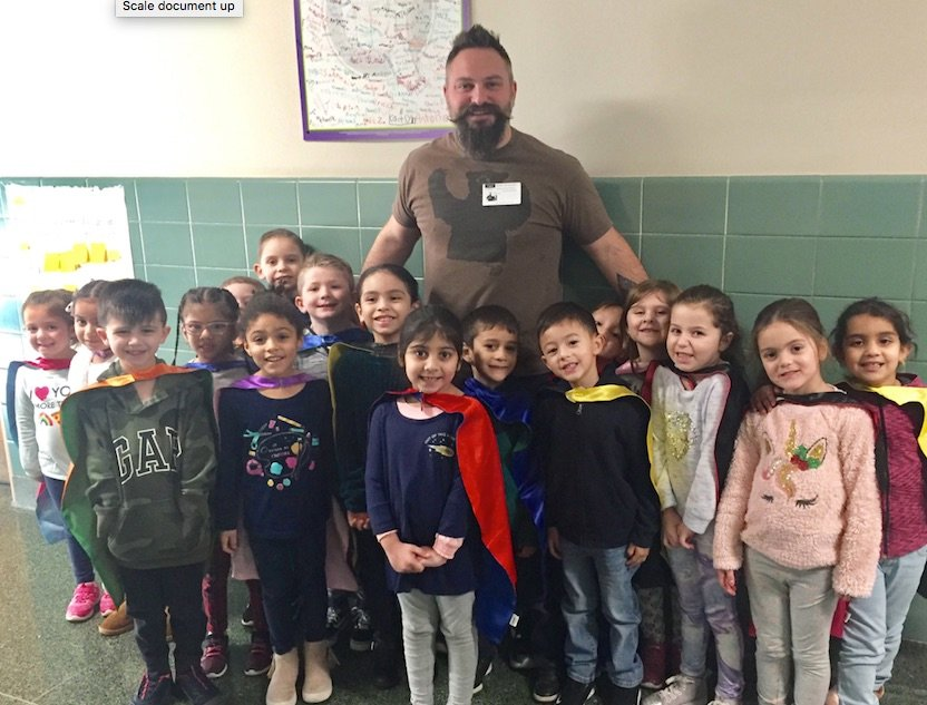 Award-winning singer-songwriter Jared Campbell visited Parkway Elementary School on Jan. 9 to teach valuable lessons through song.