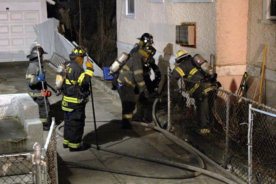 Long Beach firefighters responded to a call at 3:12 a.m. on Jan. 17. No injuries were reported.