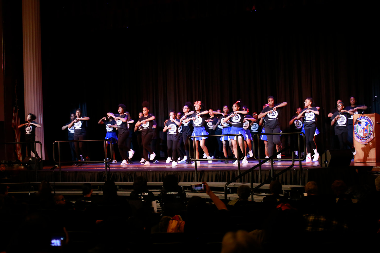 "The Howard T. Herber Middle School Harmony Club performed ""Happy Birthday,"" by Stevie Wonder, to celebrate Historically Black Colleges and Universities."
