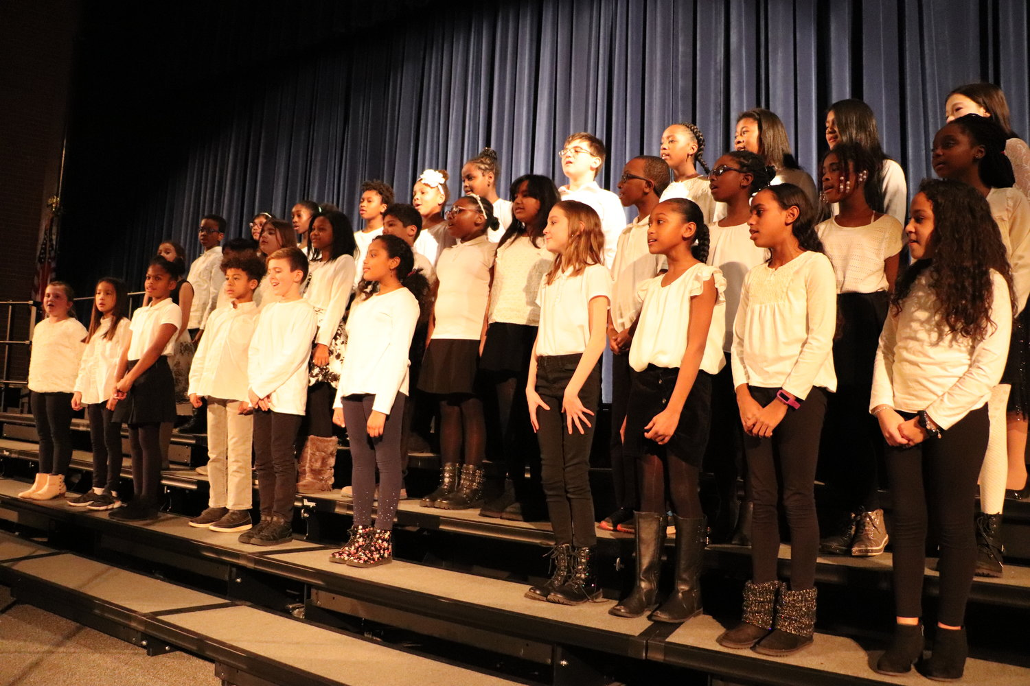 "The Meadow Special Chorus performed ""If You're Out There."""