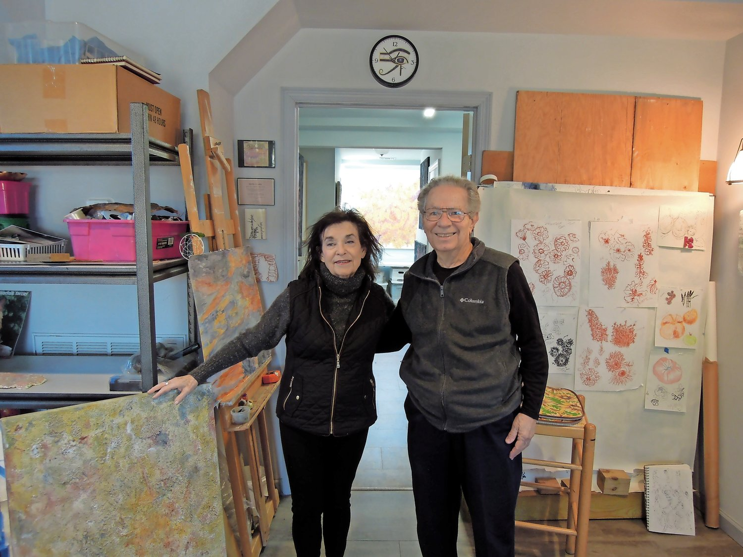 Thomas and his wife of 59 years, artist Irene Clark, have lived on the South Shore since 2008.