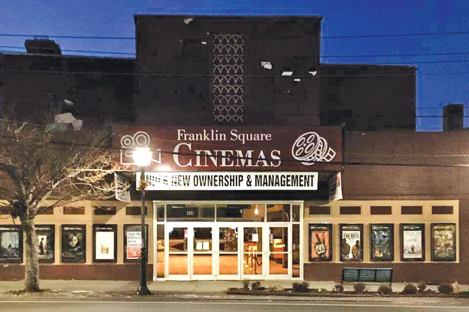 Jasmin Frankel and Jay Levinson took over the Franklin Square movie theater at the end of November.