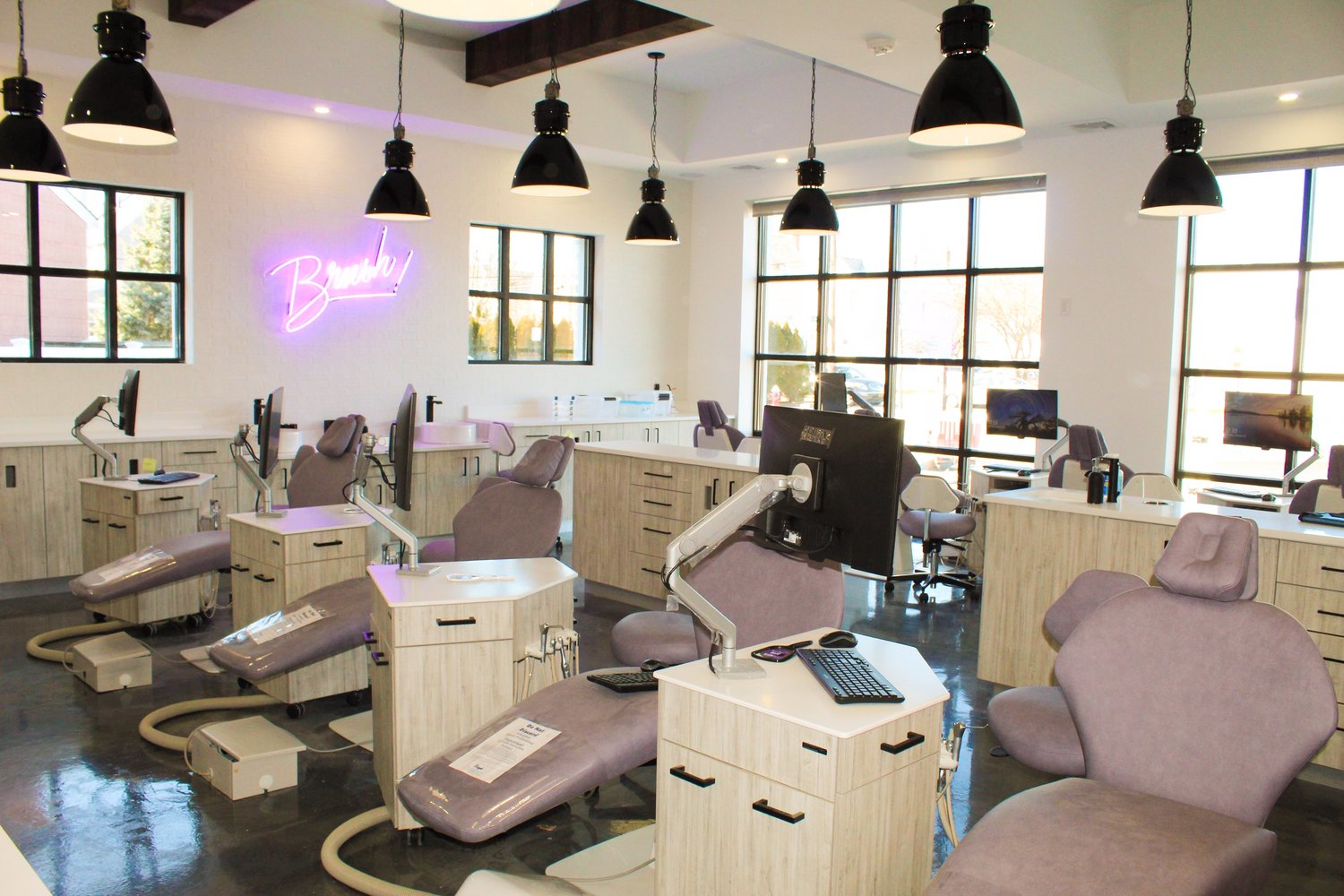 On Rockaway Avenue, above, Sipkin Orthodontics is opening its second location. Dr. Jennifer Sipkin said she expects the office to be up and running next week.