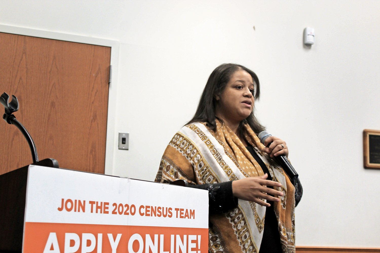 Assemblywoman Michaelle Solages hosted the Census Job Fair.