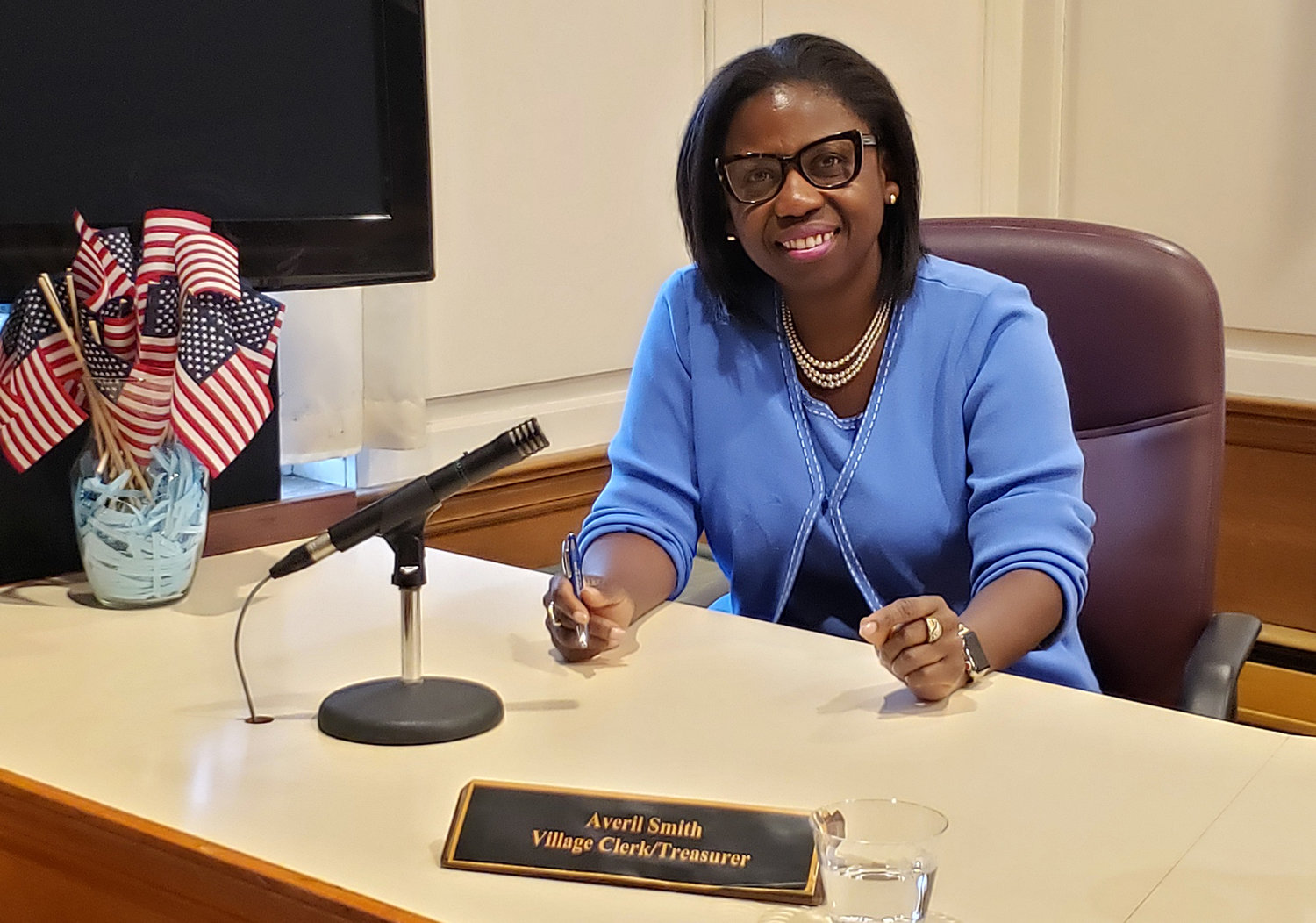 Malverne's new village clerk, Averil Smith, was appointed during the village's Feb. 5 board meeting.