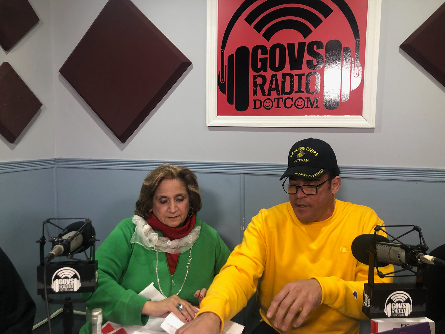 Long Island Breakfast Club Show co-hosts Valentina Janek and Gregg Cajuste air their talk show every Monday and Thursday.