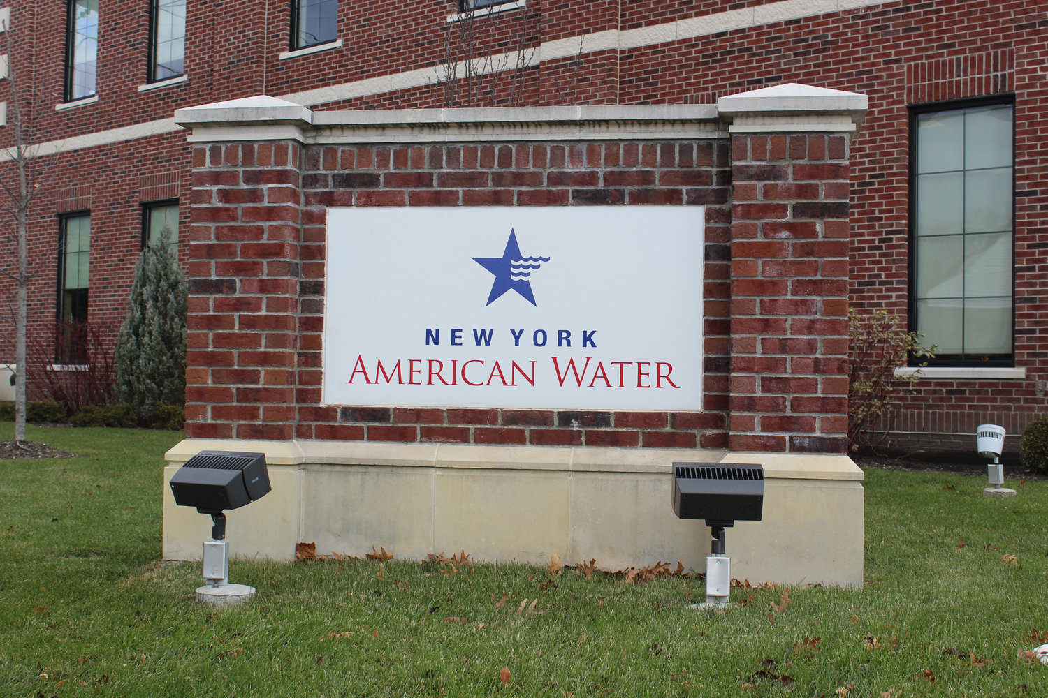 New York American Water's corporate office in Merrick.