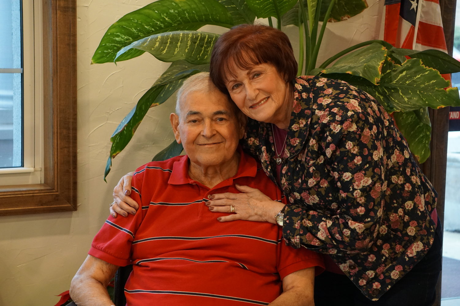 Andrew and Judy Bland were married on June 9, 1968, and will celebrate Valentine's Day together on Feb. 14. Andrew is now getting treated at Lynbrook Restorative Therapy and Nursing.