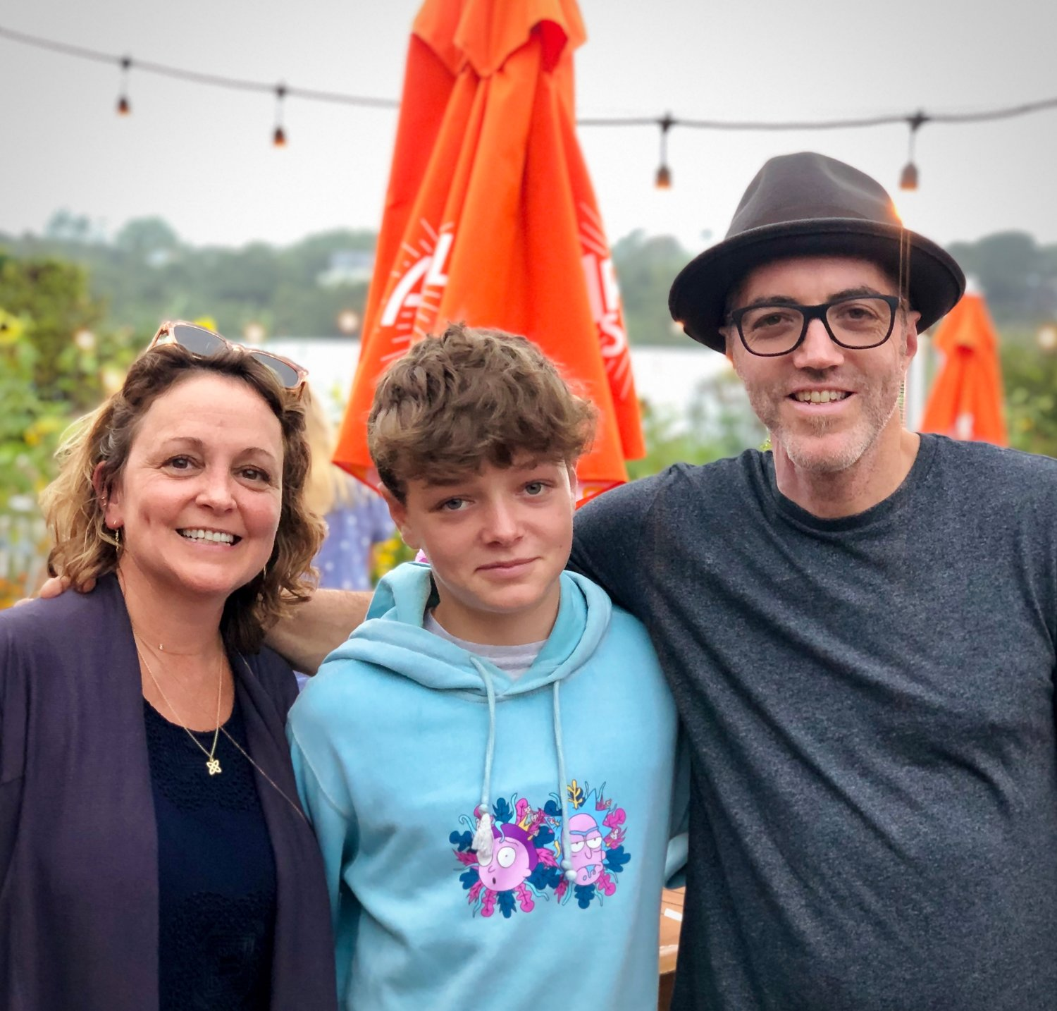 Kathleen DiResta and Dan Roth have been married for over 20 years and have become integral parts of Sea Cliff, where they have raised their 14-year-old son Dylan.