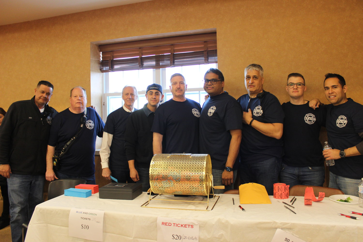 Hosting the fundraiser were the volunteers of Engine Company #2, of which Smith was captain.
