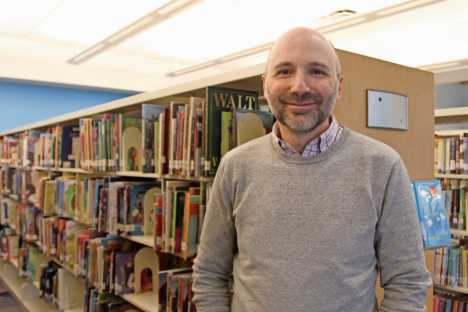 Dan Chuzmir, of Port Washington, began his stint as the new director of the Merrick Library on Jan. 1.