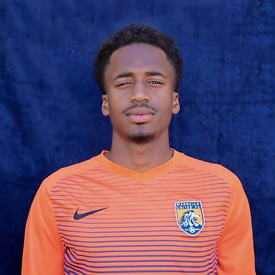 John Rogers, a 2013 Elmont High grad, started playing for Marbella United in 2015.