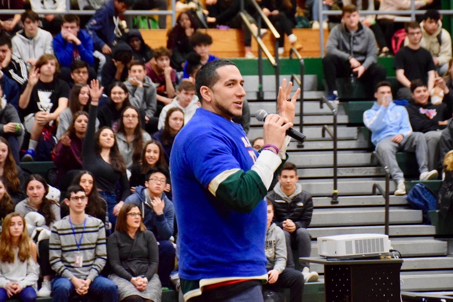 Gian Paul Gonzalez served as the keynote speaker.