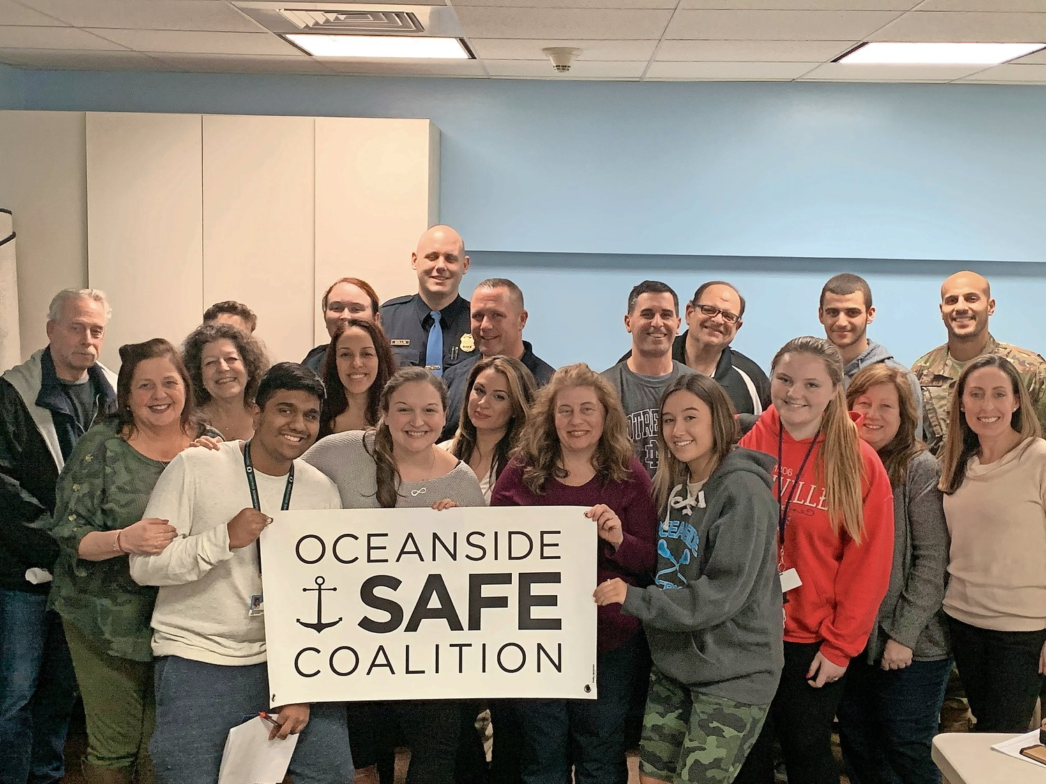 The Oceanside SAFE Coalition met on Feb. 27 at the Oceanside Library. The group typically meets every third Thursday of the month.