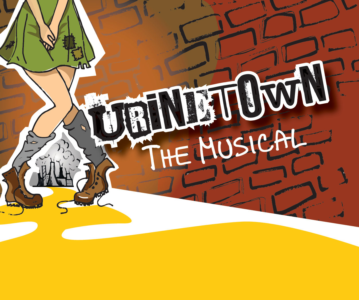"Molloy College CAP21 theater students stage ""Urinetown"" on Saturday and Sunday."