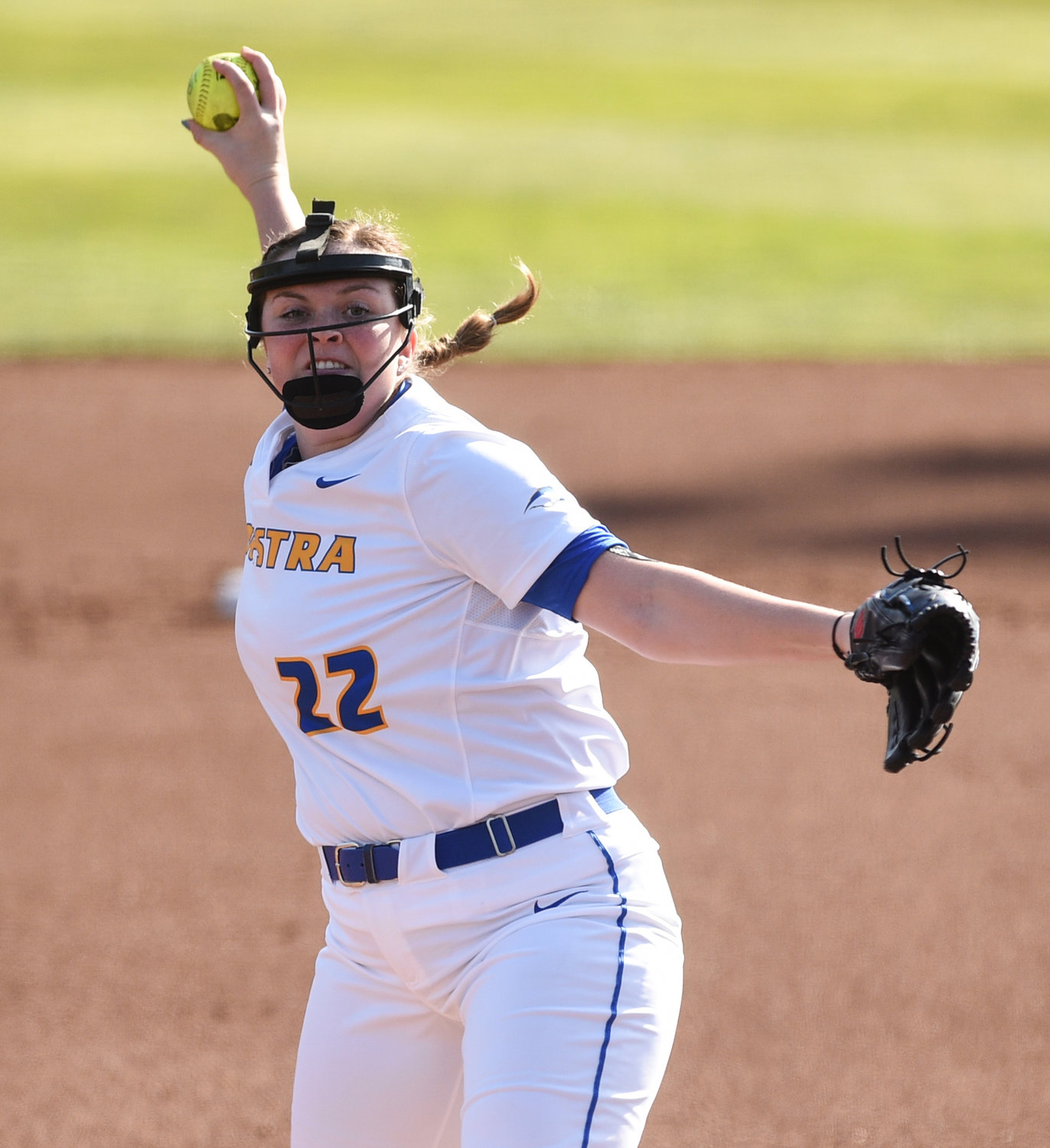Madison Burns split 26 decisions as a freshman last spring with a 3.79 ERA and 82 strikeouts.