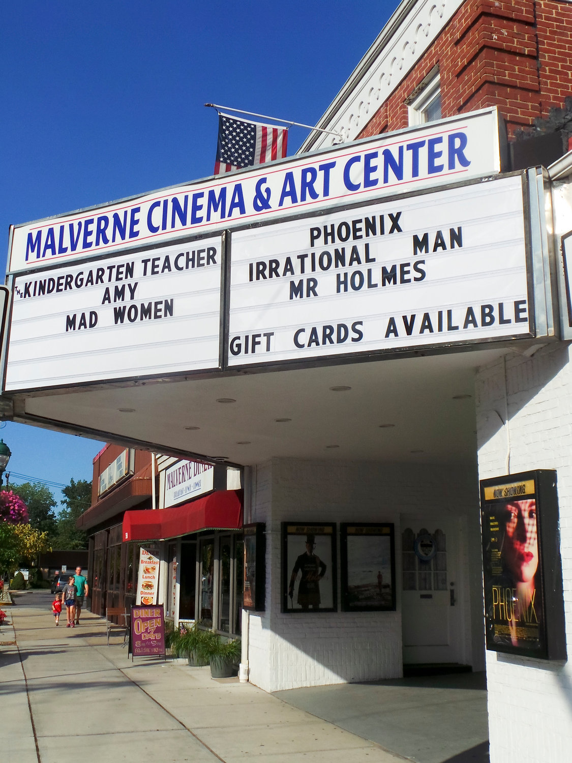 The Malverne Cinema is one of several public venues that was closed by Gov. Andrew Cuomo in response to the coronavirus.