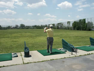 The golf course at North Woodmere Park is one five Nassau County owned and operated courses that will reopen on March 26.