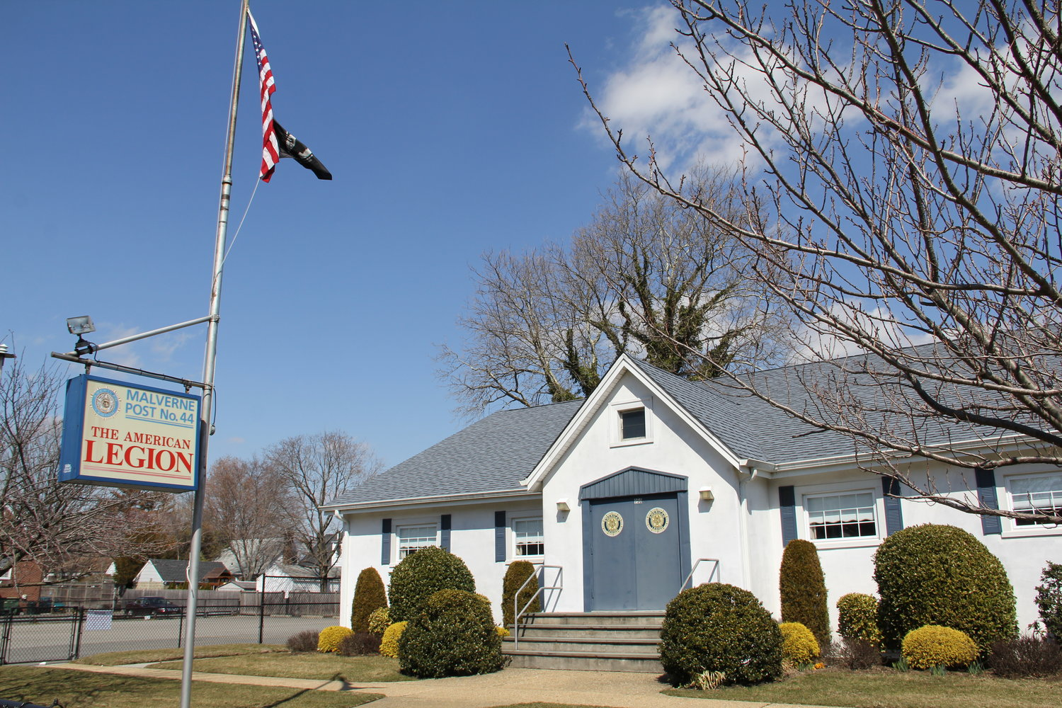 Malverne American Legion Post 44's annual Walk-A-Thon to support veterans, which was scheduled for Saturday, was cancelled. The Post is accepting checks at P.O. Box 44, Malverne, N.Y. 11565.