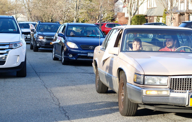 More than 20 cars of Troop 109's members took part in the celebration made necessary due to the coronavirus pandemic.