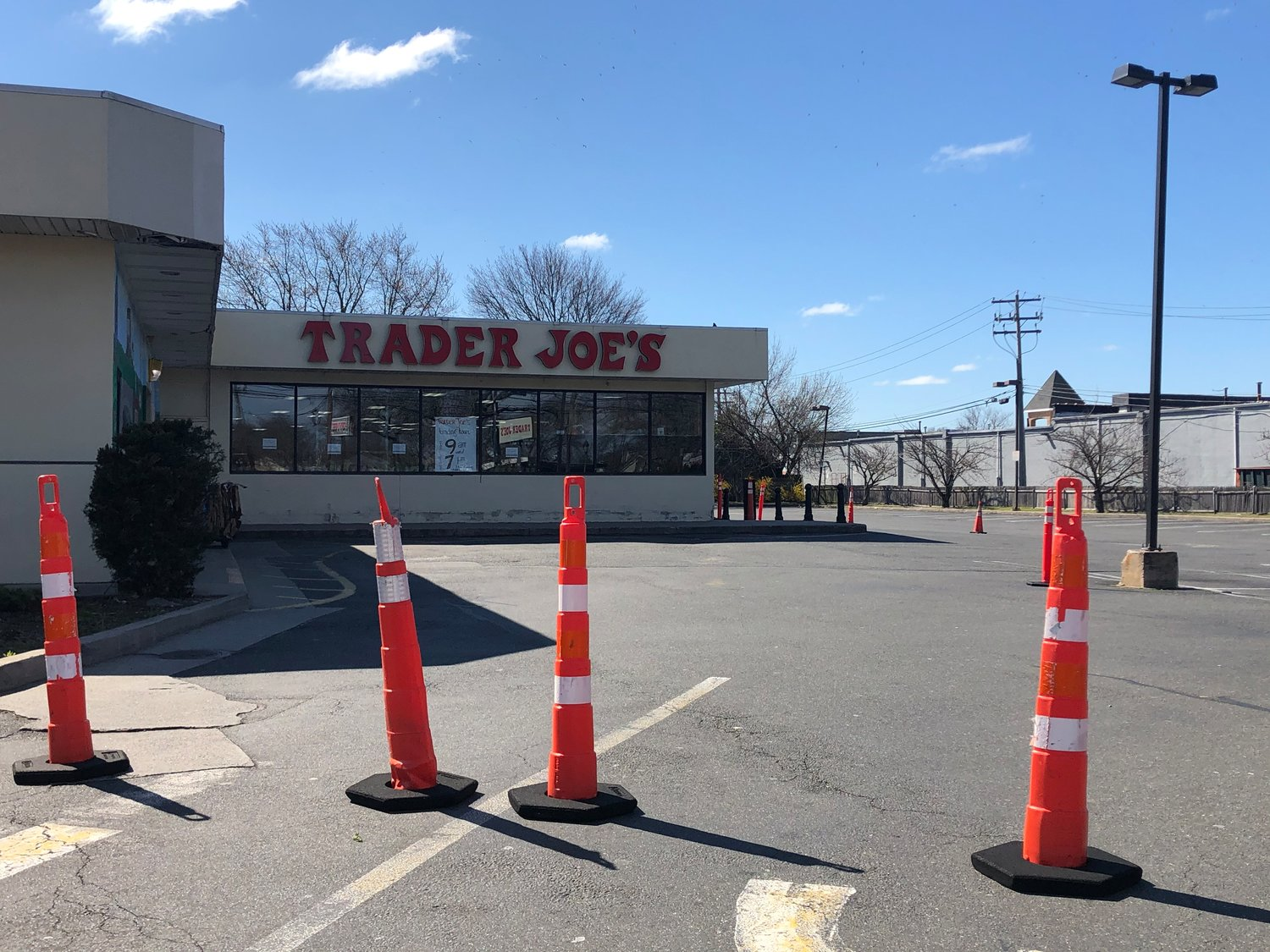 The Trader Joe's store in Merrick reopened to customers on April 4 after being temporarily closed for Covid-19-related cleaning.