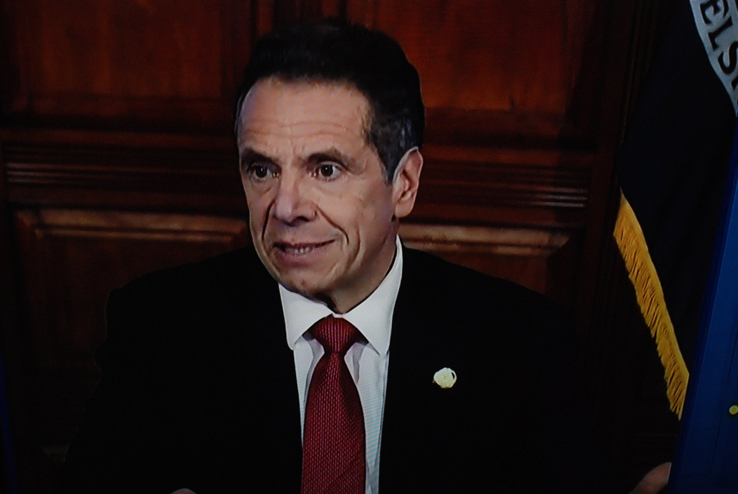 Governor Cuomo said more than 800,000 people in the NYS have filed for unemployment.