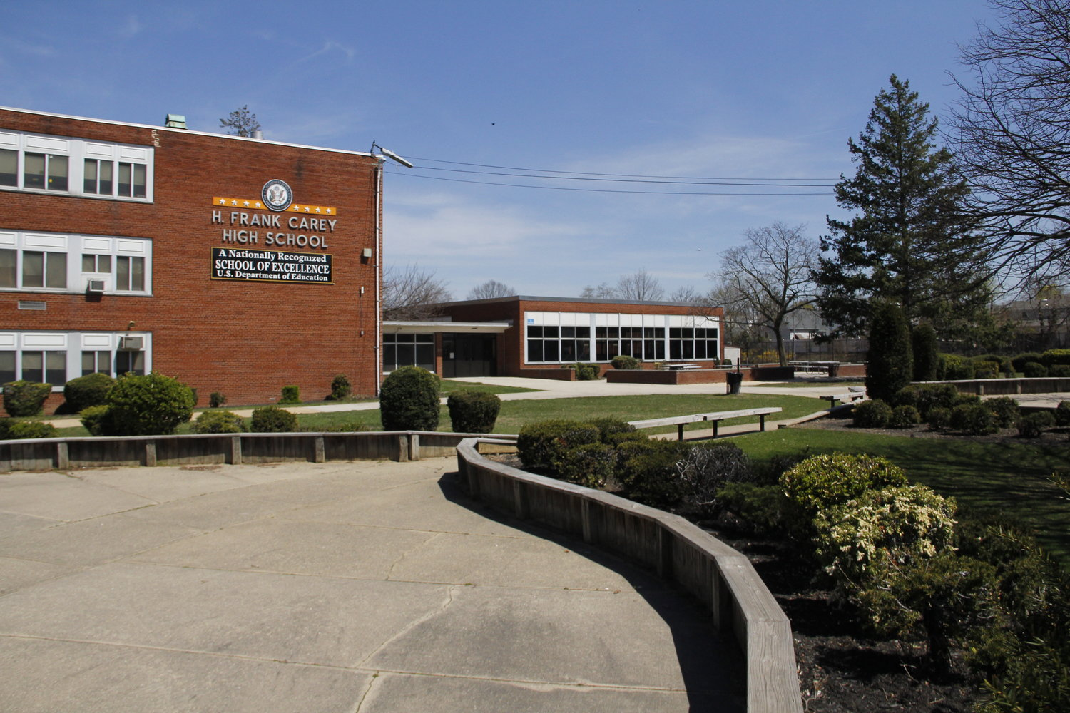 Schools in the Sewanhaka Central High School District will remain open during the district's scheduled Spring Break.