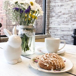 Polka Dot Pound Cake is offering plenty of festive baked goods, including bunny cookies for Easter and flourless bread for Passover.