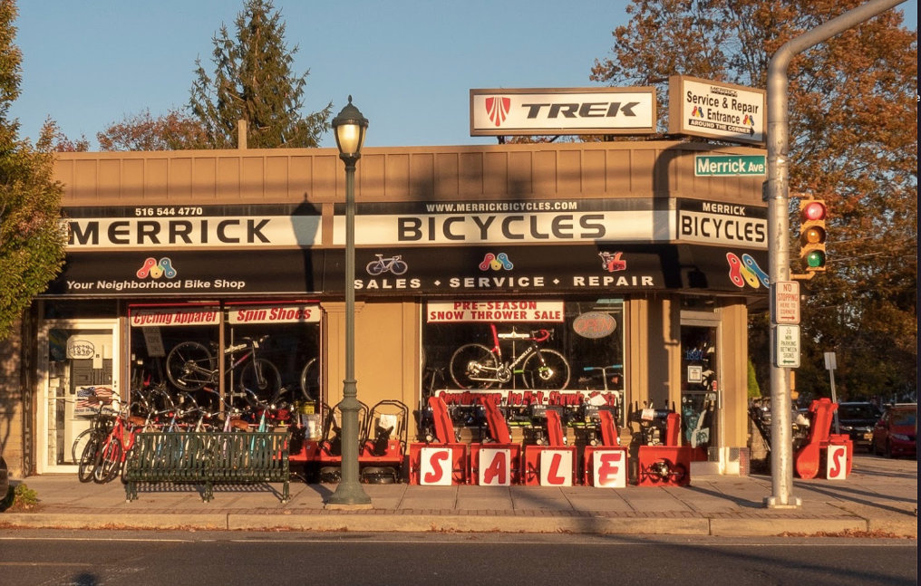 "Merrick Bicycles is selling ""everything,"" a sales associate said last week, as people try to stay fit despite gym closures."
