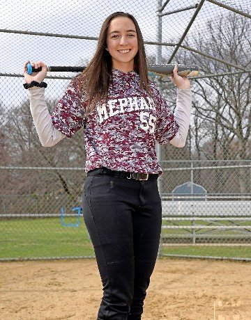 Senior Brianna Morse and the Mepham Lady Pirates softball team has lofty goals for 2020 but may not get a chance to play.