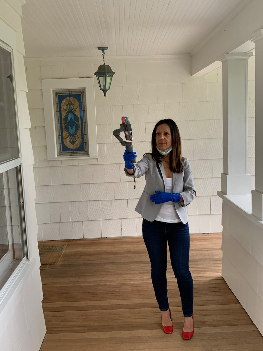 Ann Hance, a Daniel Gale Sotheby's associate broker for over eight years, said she sells homes anywhere between Manhasset and Cold Spring Harbor. The attendance in her two virtual Zoom tours was tremendous, she said, with one house having 40 viewers at one time.