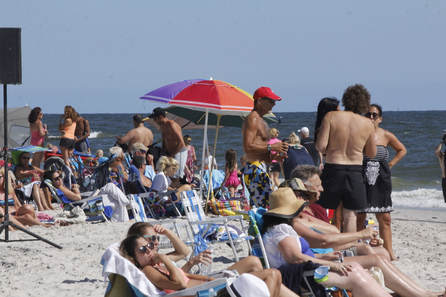 Long Island beaches, including this one in Long Beach, will be open on Memorial Day weekend, Gov. Andrew Cuomo said. Beach clubs and Atlantic Beach village beaches will open May 30.