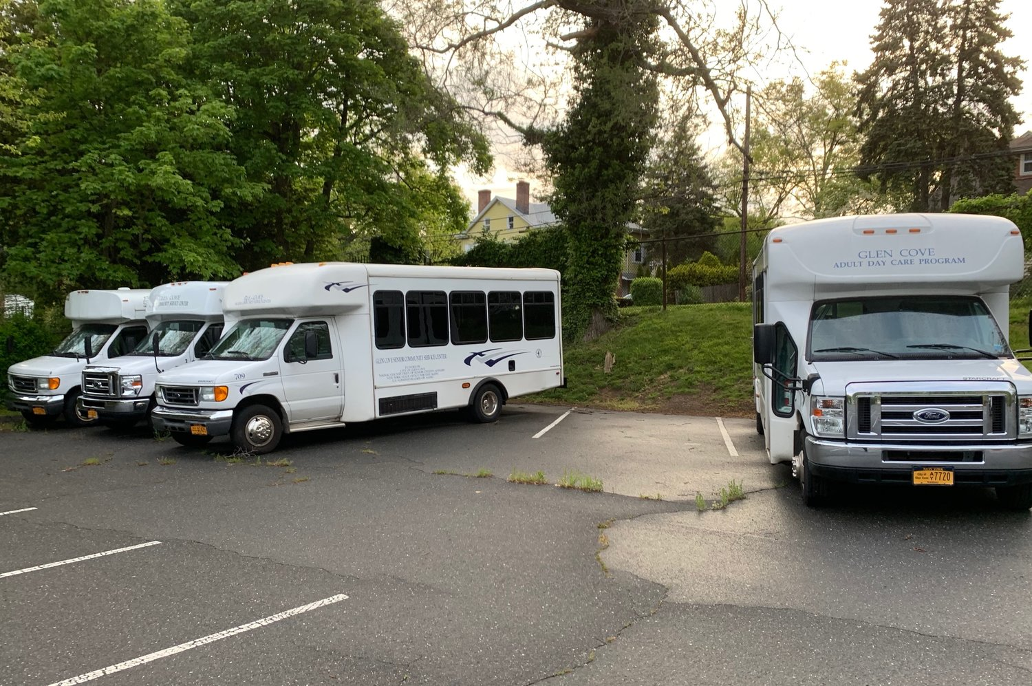 Glen Cove will receiving a new loop bus in the fall, replacing the Youth Bureau van and Glen Cove Senior Center fleet currently in use.