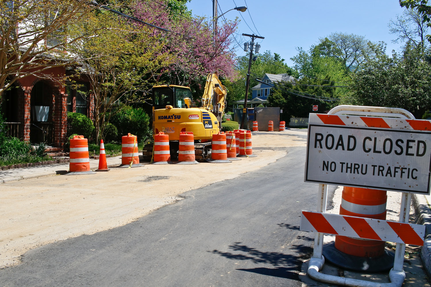 Summit Avenue is among the first streets to be a part of the Sea Cliff sewer project.