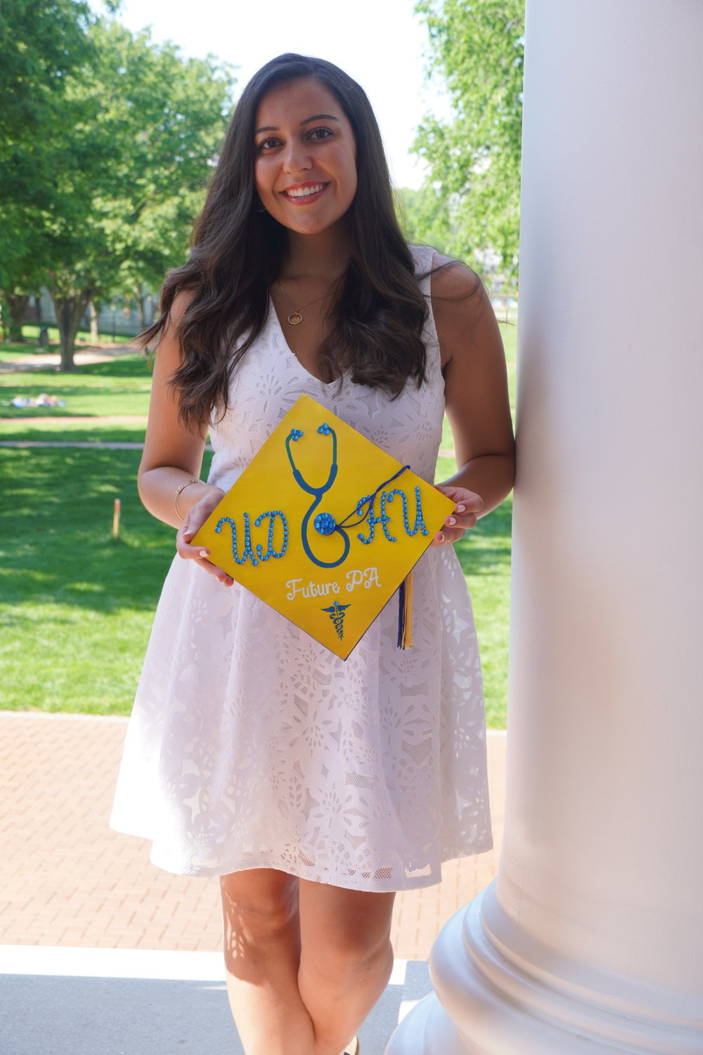 Danielle Sugar, 22, of East Norwich, will graduate from the University of Delaware with a pre-physician assistant degree.