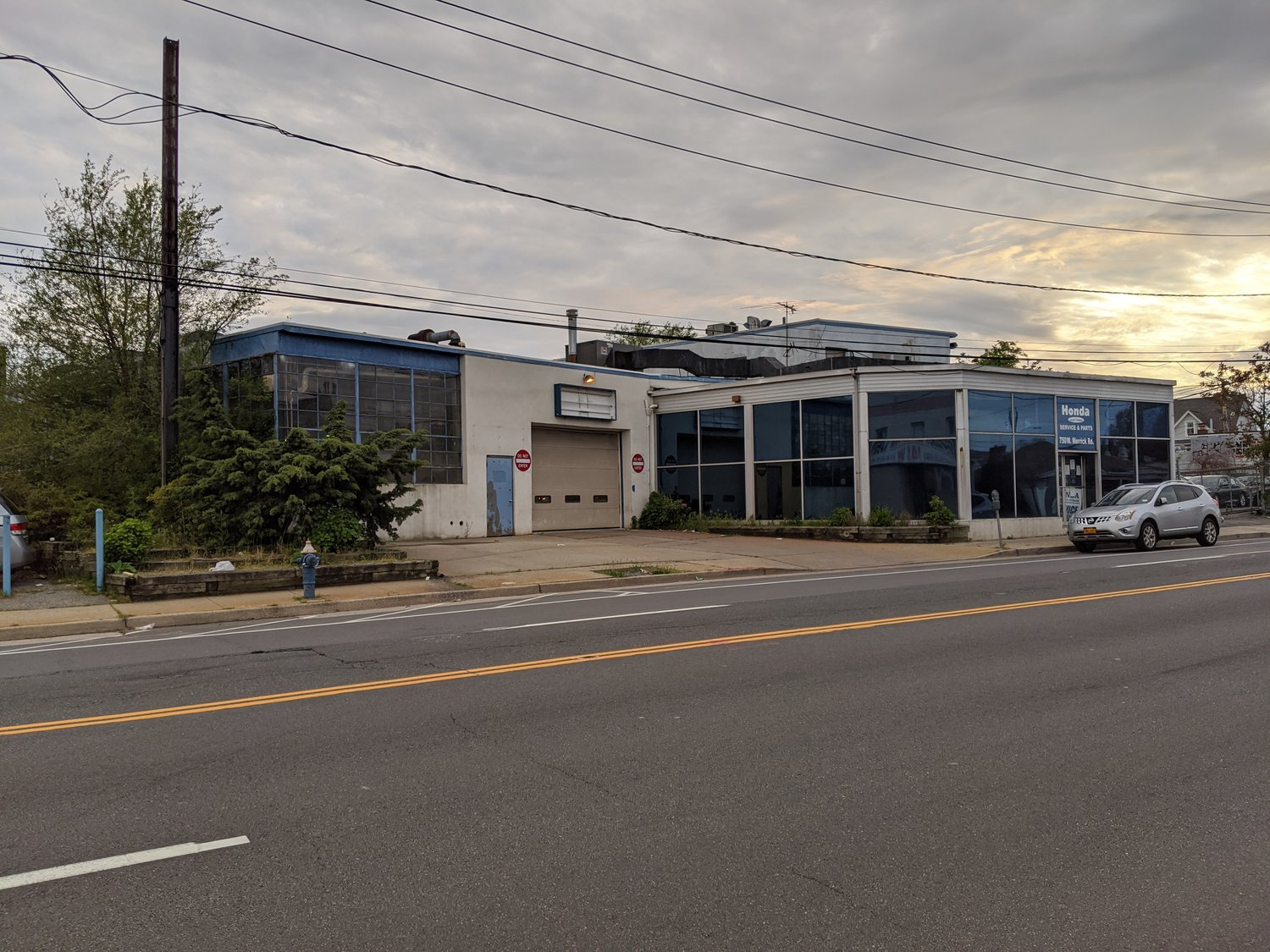 The Town of Hempstead Industrial Development Agency is mulling tax breaks for a storage facility slated to replace a West Merrick Road Honda dealership service center and storage lot.