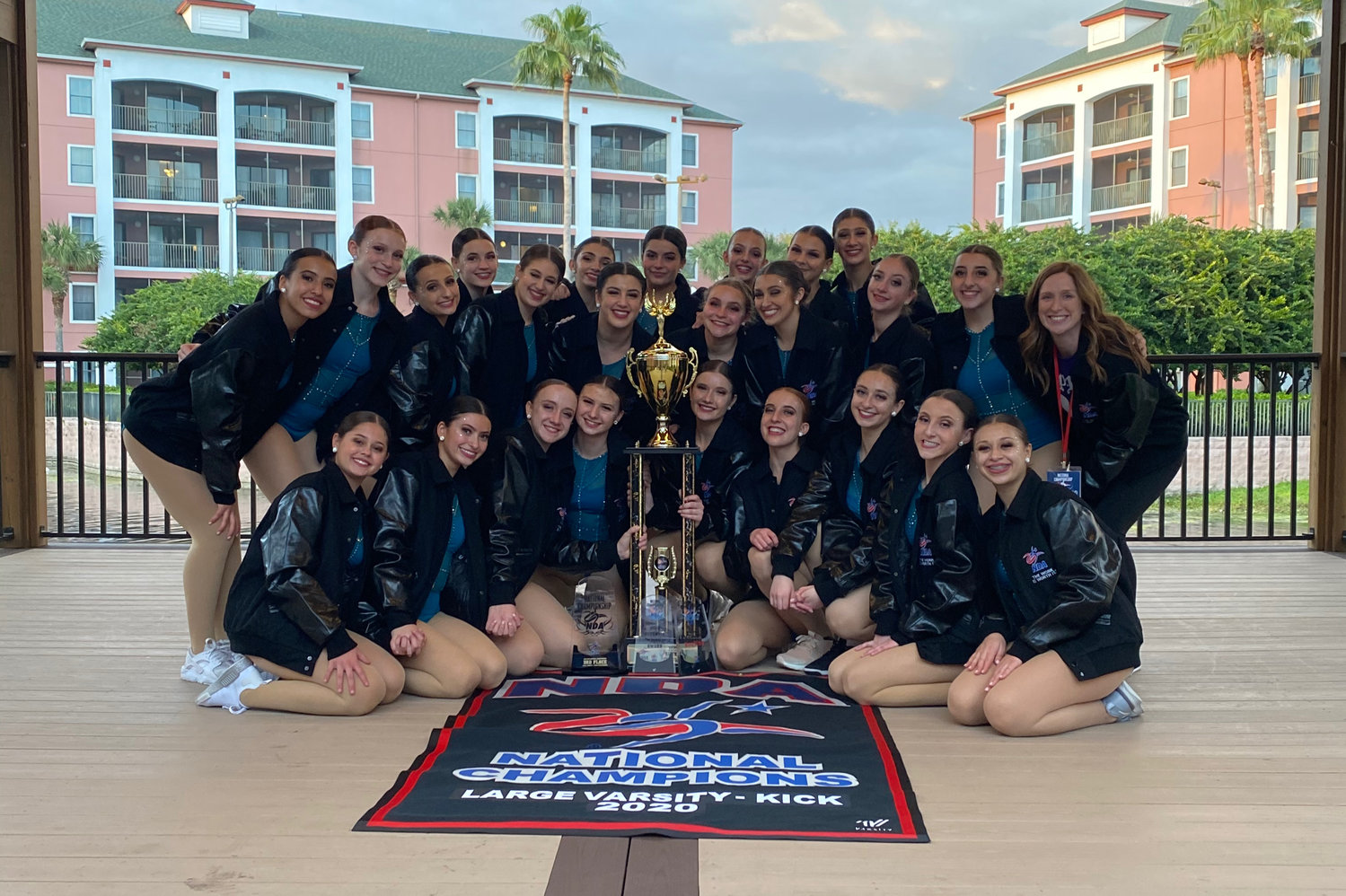 The Mepham Pirettes won their first national championship in program history this year at the World Disney World Resort in Florida.