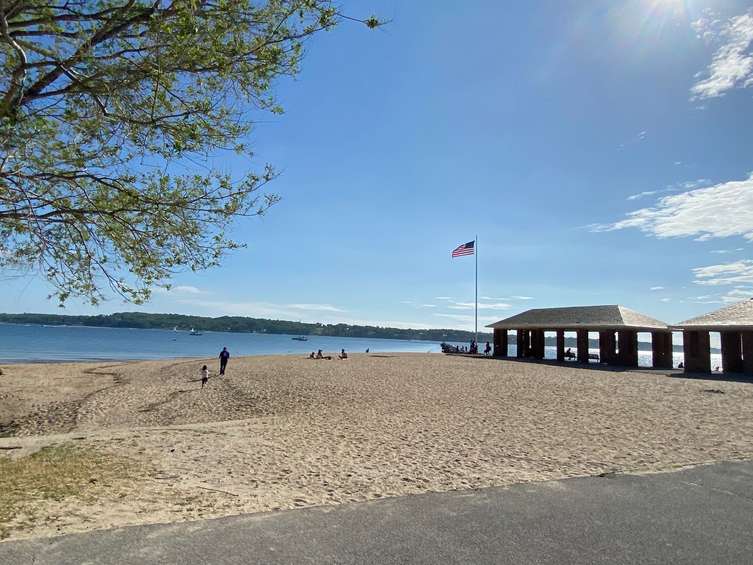 Morgan Park Beach opened for swimming over Memorial Day weekend.