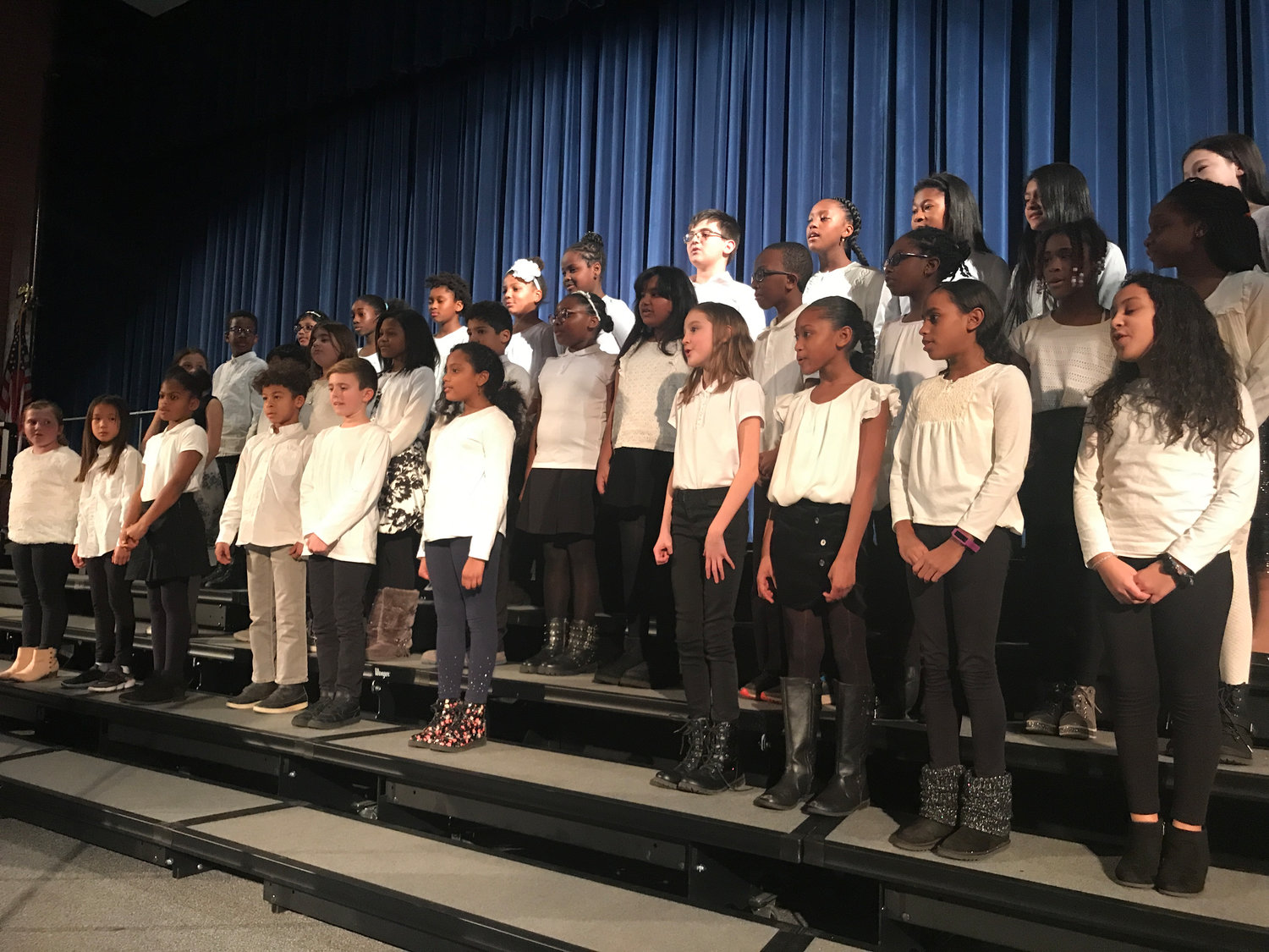 The Baldwin school district's music program begins at the elementary level.