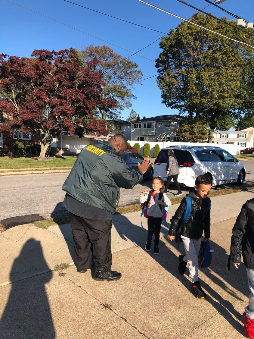 Andre Lewis greeted students every morning, no matter the weather, and knew their names and interests, said Parkway Principal Jamie Mack.