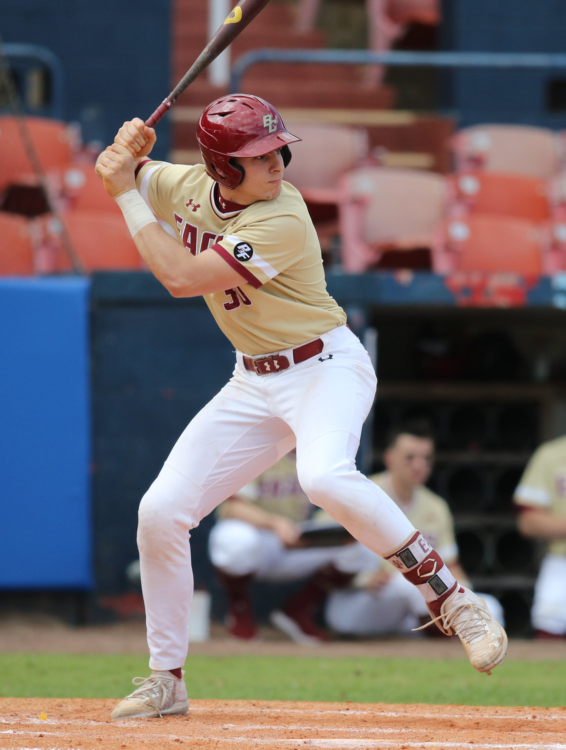 Joe Suozzi was batting .414 at Boston College until the coronavirus ended the season.