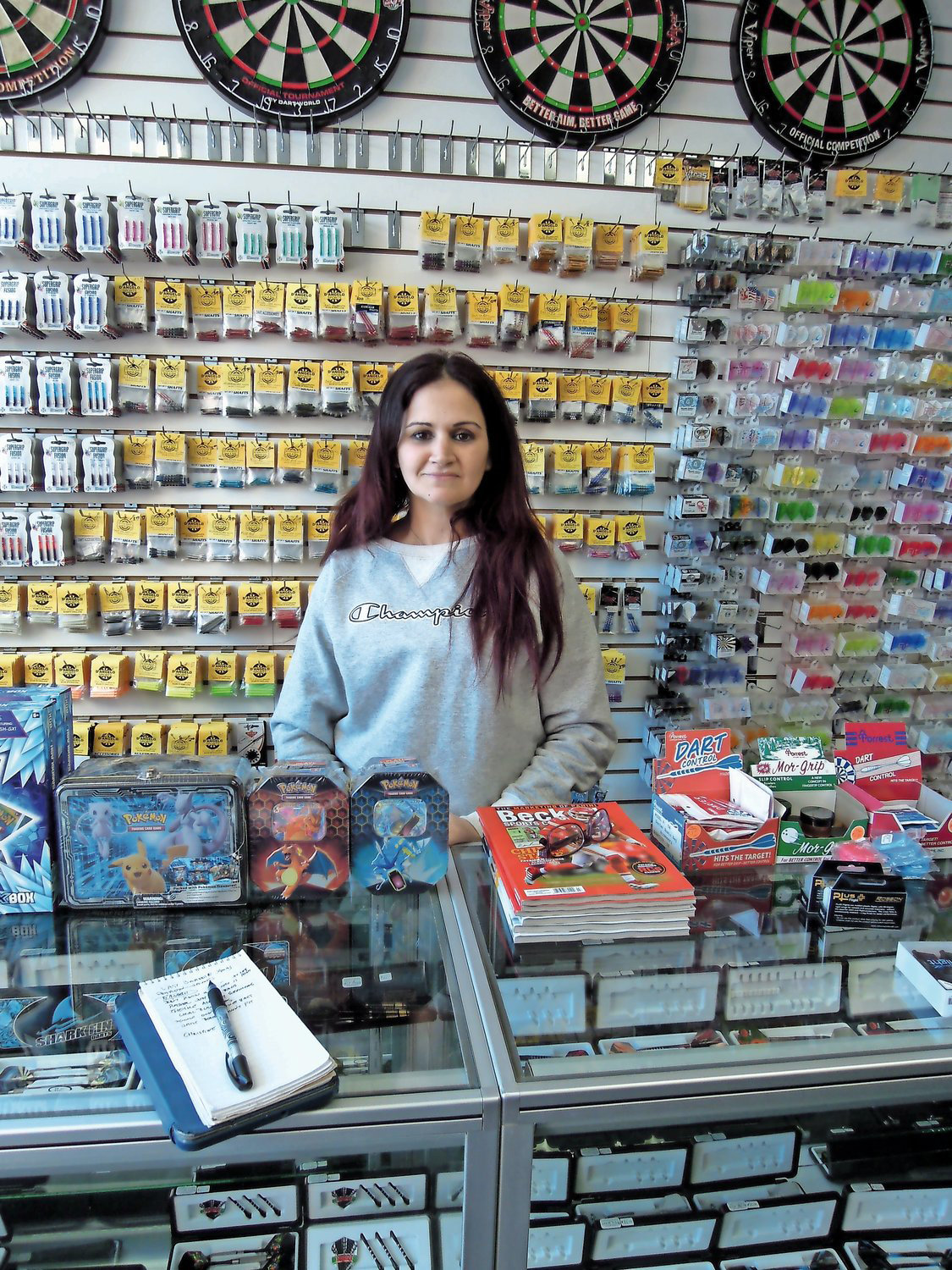 Christine D'Angelo, of D'Angelo's Sporting Goods, in Wantagh, said her business is now open, after she spent an extra two weeks wrangling with the rules of