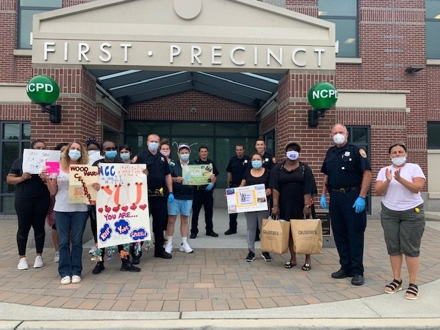 The Nassau County Police Department's First Precinct welcomed the thanks from WCC.