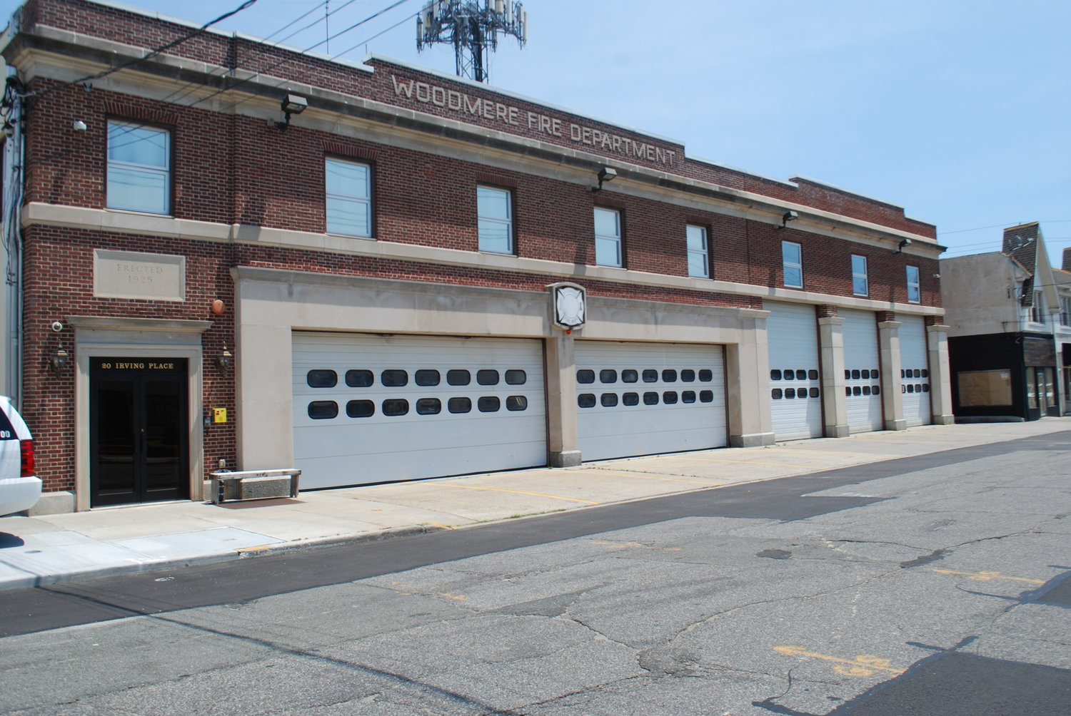 Volunteer fire departments across New York state, including the Woodmere department will benefit from the newly signed legislation that will protect the Length Of Service Award Program.