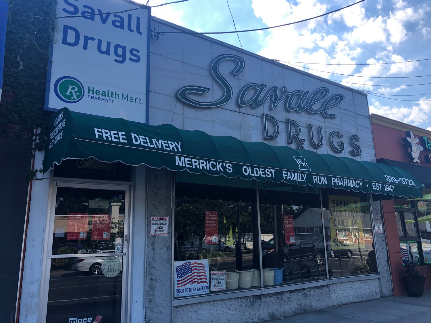 Savall Drugs served as a fixture in the Merrick community since 1947. Its inventory was sold to CVS Pharmacy last month.