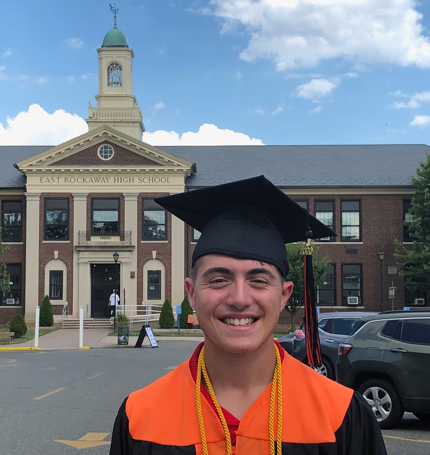 Graduate, Anthony Romano will study business and its relation to the music industry at Saint John's University