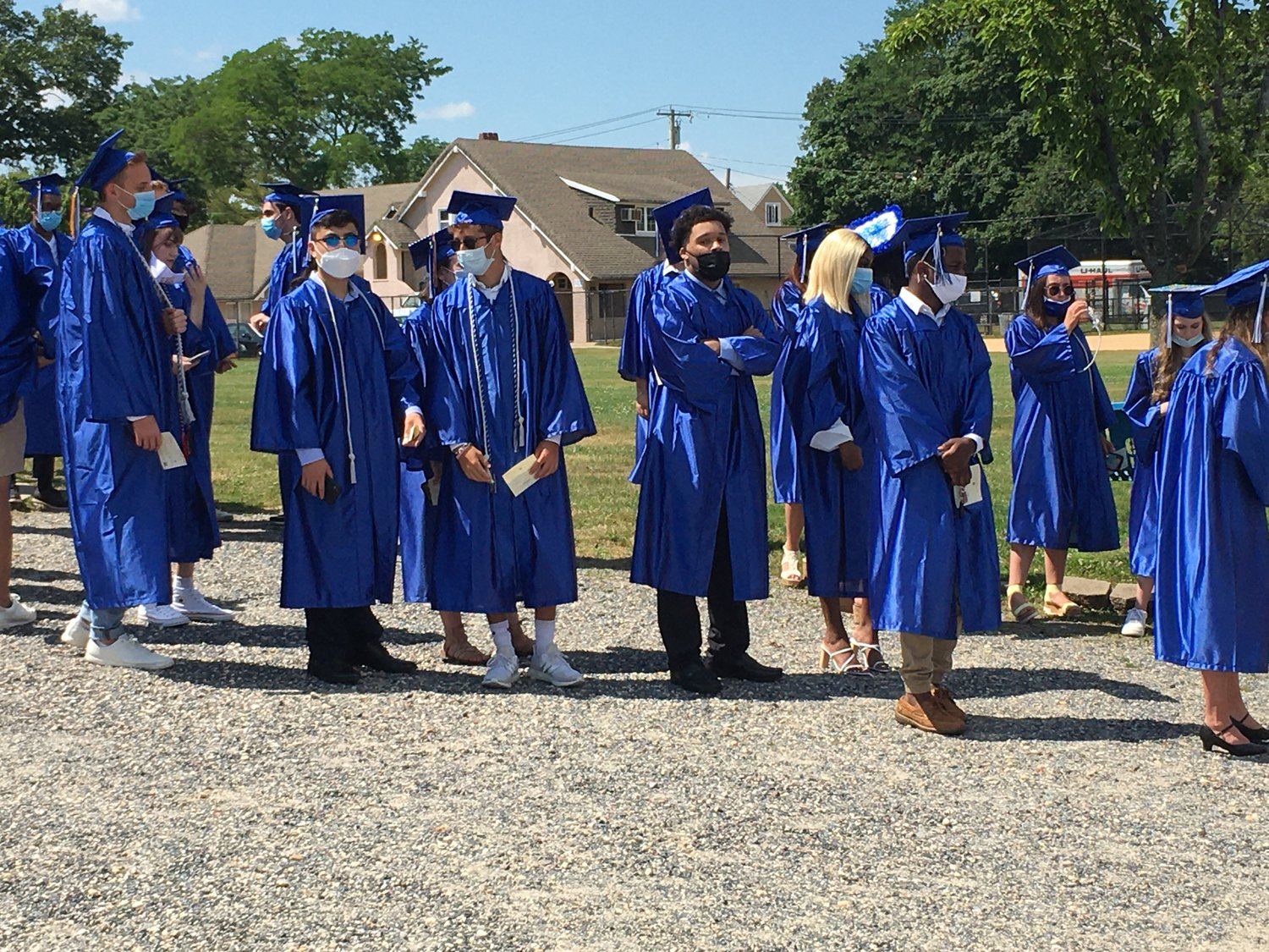 Albeit under different circumstances, Hewlett High School's class of 2020 got to experience an in-person graduation ceremony as the school held six ceremonies throughout June 29 and 30.